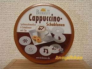 Cappucino Schablonen