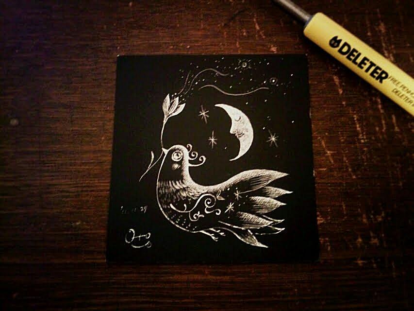 夜を連れてくる鳥