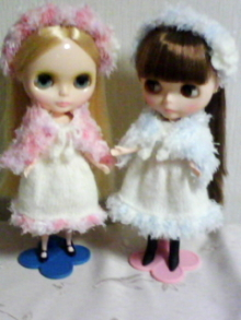 doll-handmade-ブライス ニットワンピース