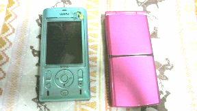 いいな新しい携帯!