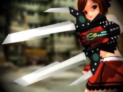 究極のナイフ「クリティカル(臨界)」モデルサンプル画像