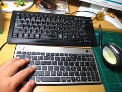 ワイヤレスキーボードを買ってみた