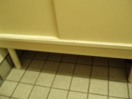 下駄箱の下のスペース