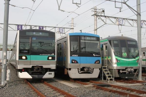 E233系&4000形&16000系