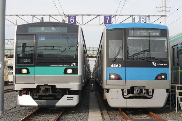 E233系と4000形