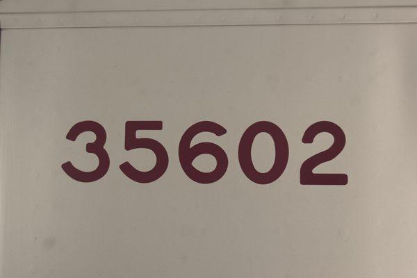 35602号車