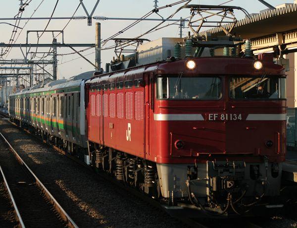 EF81134+E233系NT58編成
