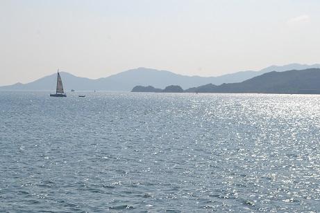 坪州行 海風景