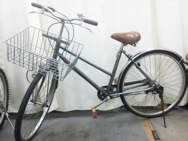 自転車の ミニ自転車カゴ : ... ですが、カゴが浅くて広い