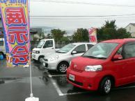 新車も展示^^