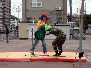 戦闘員乱入^^;