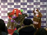 タレちゃんたちとモルモット!?^^