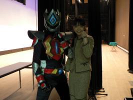 エディーと影山洋子さん^^