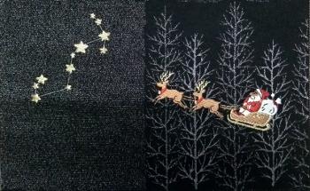 クリスマス サンタクロース2 アップ