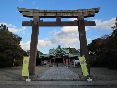 豊国神社(鳥居)