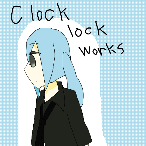 clock lock works