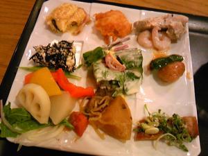 「ディナーブッフェ」姫蛍(福岡市)