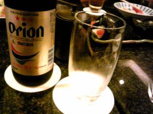 「オリオンドラフトビール」オリオンビール(沖縄)