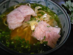 「ソーキそば」すーまぬめぇ(沖縄)