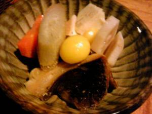 「煮物」山荘 紗羅樹(湯布院)