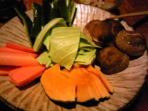 「野菜」山荘 紗羅樹(湯布院)