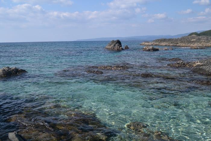 中ノ浜の海16