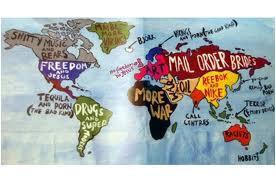 笑える世界地図