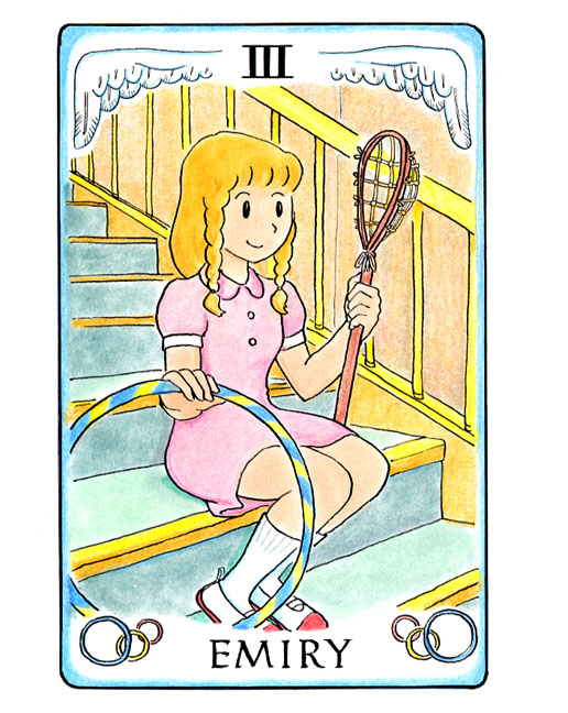 登場人物紹介3、 エミリー