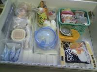 冷凍庫の掃除