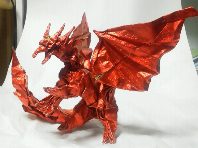 すべての折り紙 折り紙 エンシェントドラゴン : 折り神になれって言ってるでし ...