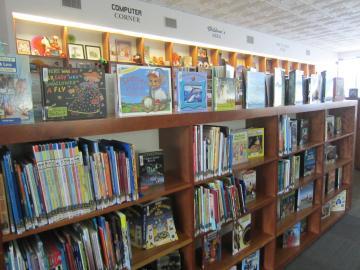 アーカンソーの小さな街の図書館-2, 2014-11-3