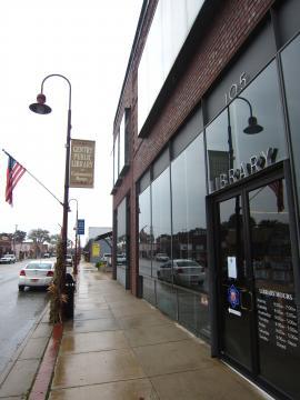 アーカンソーの小さな街の図書館 -1, 2014-11-3