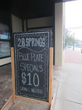 28 Springsの$10ランチ-1, 2014-11-4