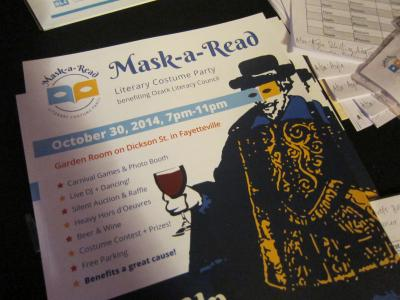 Mask-a-Read / OLC Halloween Party その1-1, 2014-10-30