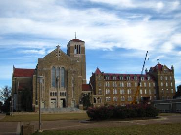 カトリック修道院 / Subiaco Abbey-1, 2014-11-9