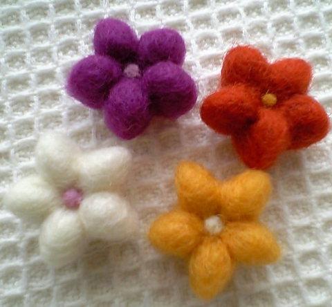 4つのお花