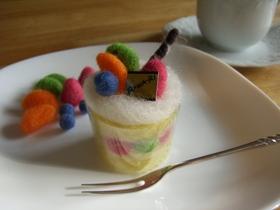 講習会のケーキ