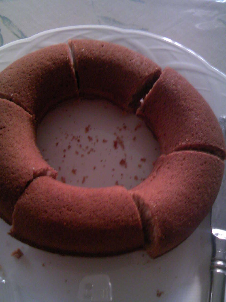 オリジナルのケーキ