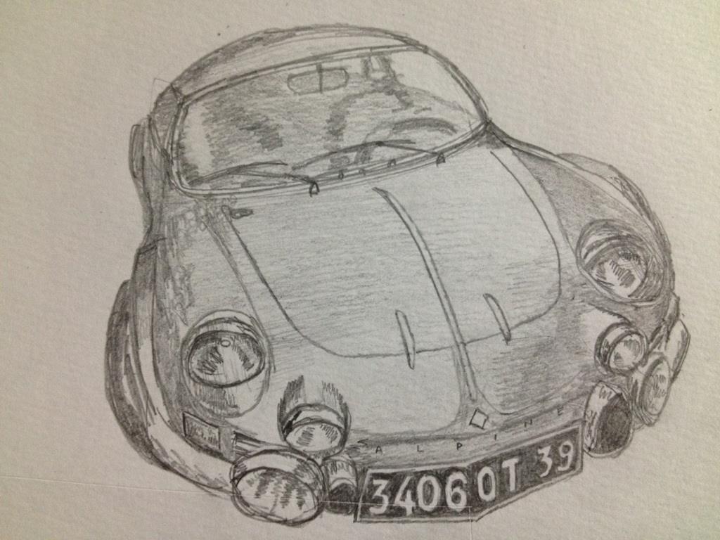 アルピーヌ・ルノーA110