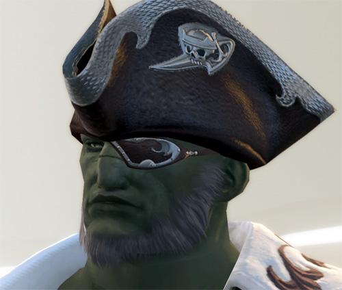 ルガ船長のすね顔