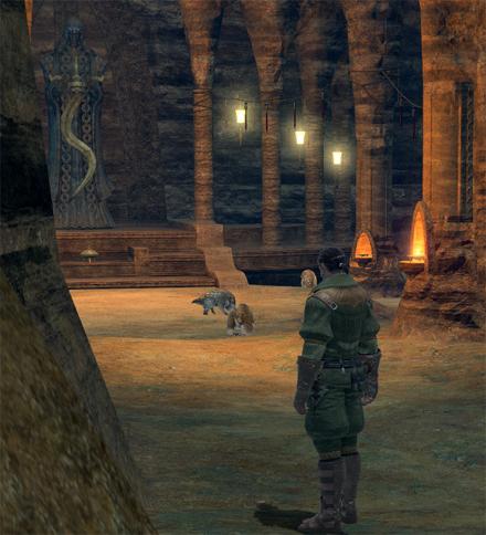 FF14ってなんなんだろう-洞窟の神殿