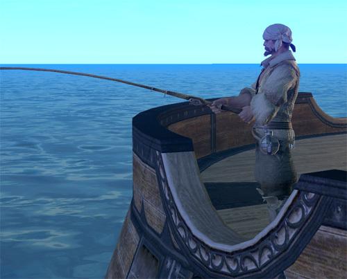 FF14ってなんなんだろう-船上で釣り