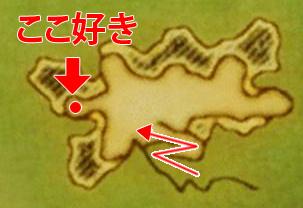FF14ってなんなんだろう-地図。ここが好き
