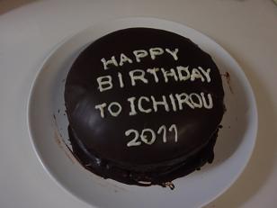 1月チョコケーキ