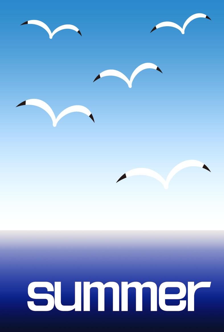 Sea gull 鴨眼 syocyuzen_e06