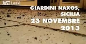 It is raining rocks in Sicily CAOE3WJT