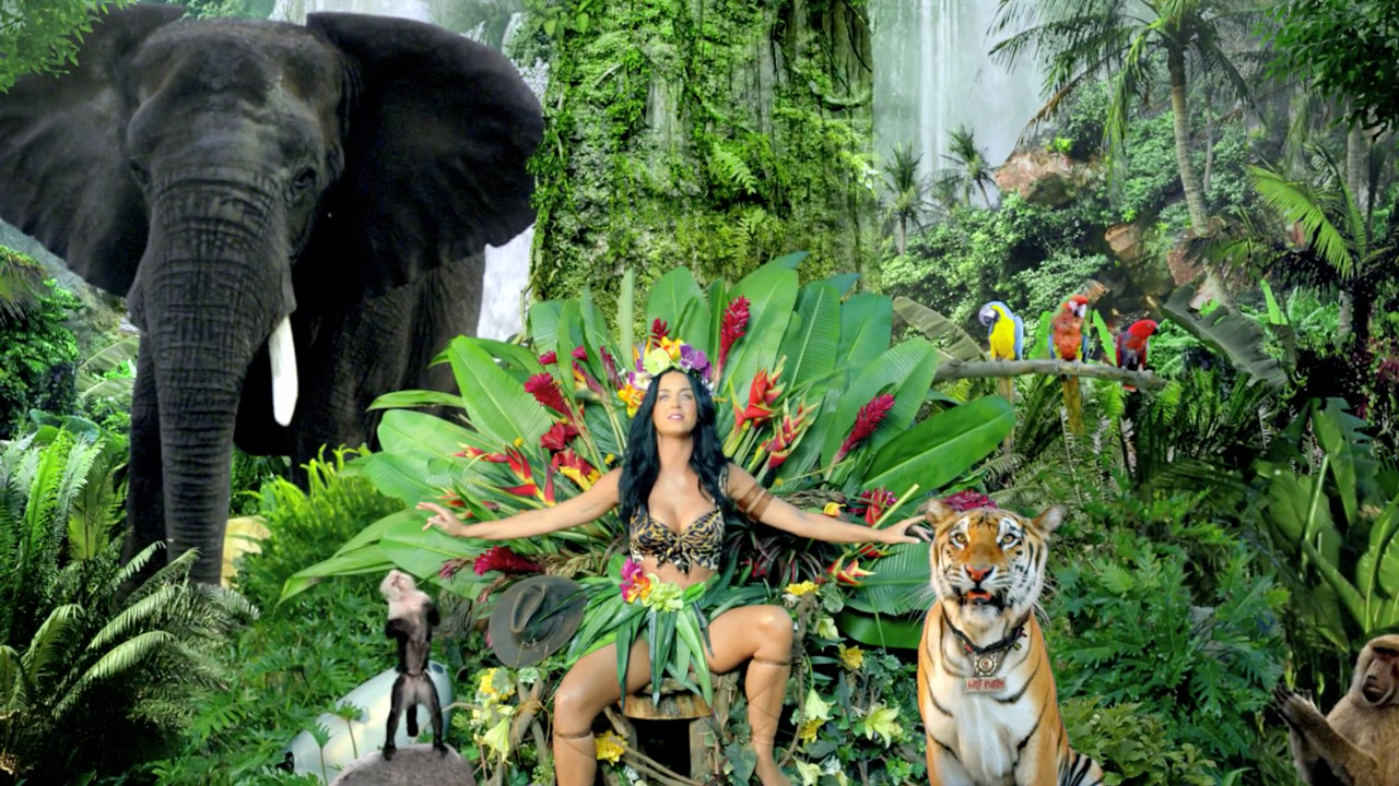 裏の裏で瑞三靈katy-perry-roar-music-video-15