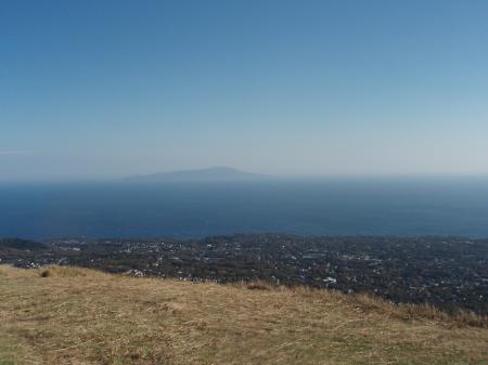 大島まで見えました