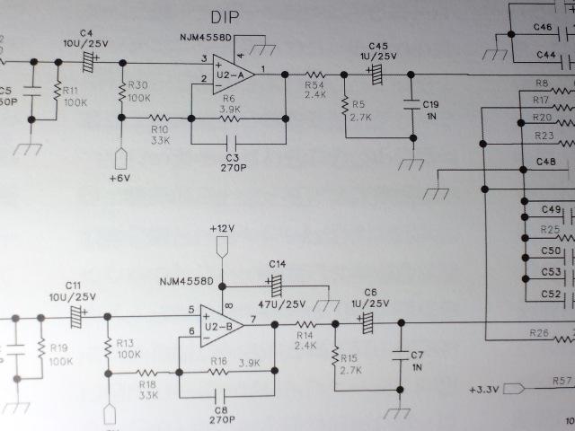 stereo誌アンプ_初段回路