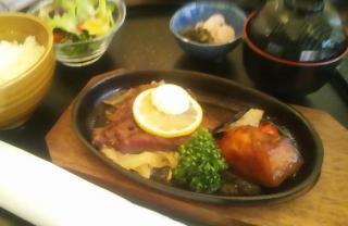 近江牛ステーキ膳